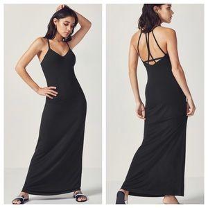 Fabletics Black Evelyn Maxi Dress